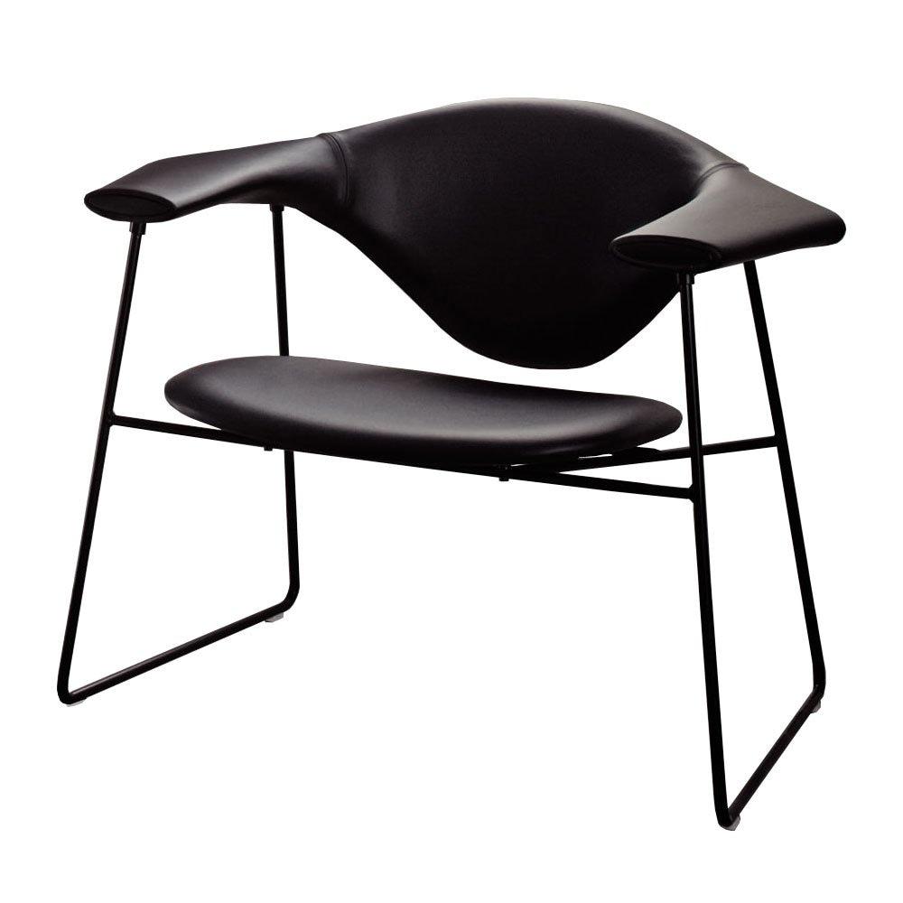 Masculo Lounge Chair, Savanne Sort