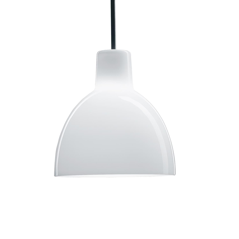 Toldbod pendant Loftslampe Ø220 48W QT V2, Hvid