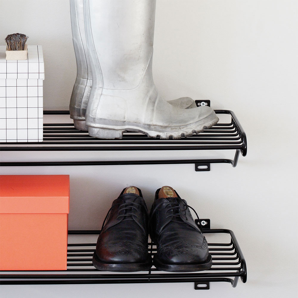 Meget Shoe Shelf Skohylde, Sort - Maze @ RoyalDesign.dk OZ41