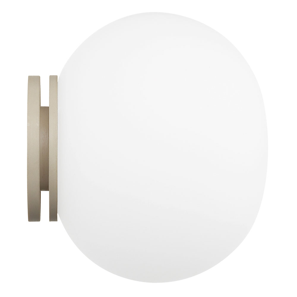 Mini Glo-Ball C7w Lampe, Hvid, Spejlmontering
