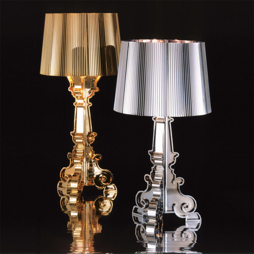 bourgie lampe s lv ferruccio laviani kartell. Black Bedroom Furniture Sets. Home Design Ideas