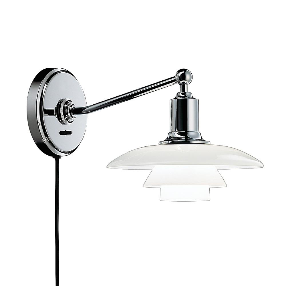 PH 2 1 V u00e6glampe, hvidt opalglas Poul Henningsen Louis Poulsen RoyalDesign dk