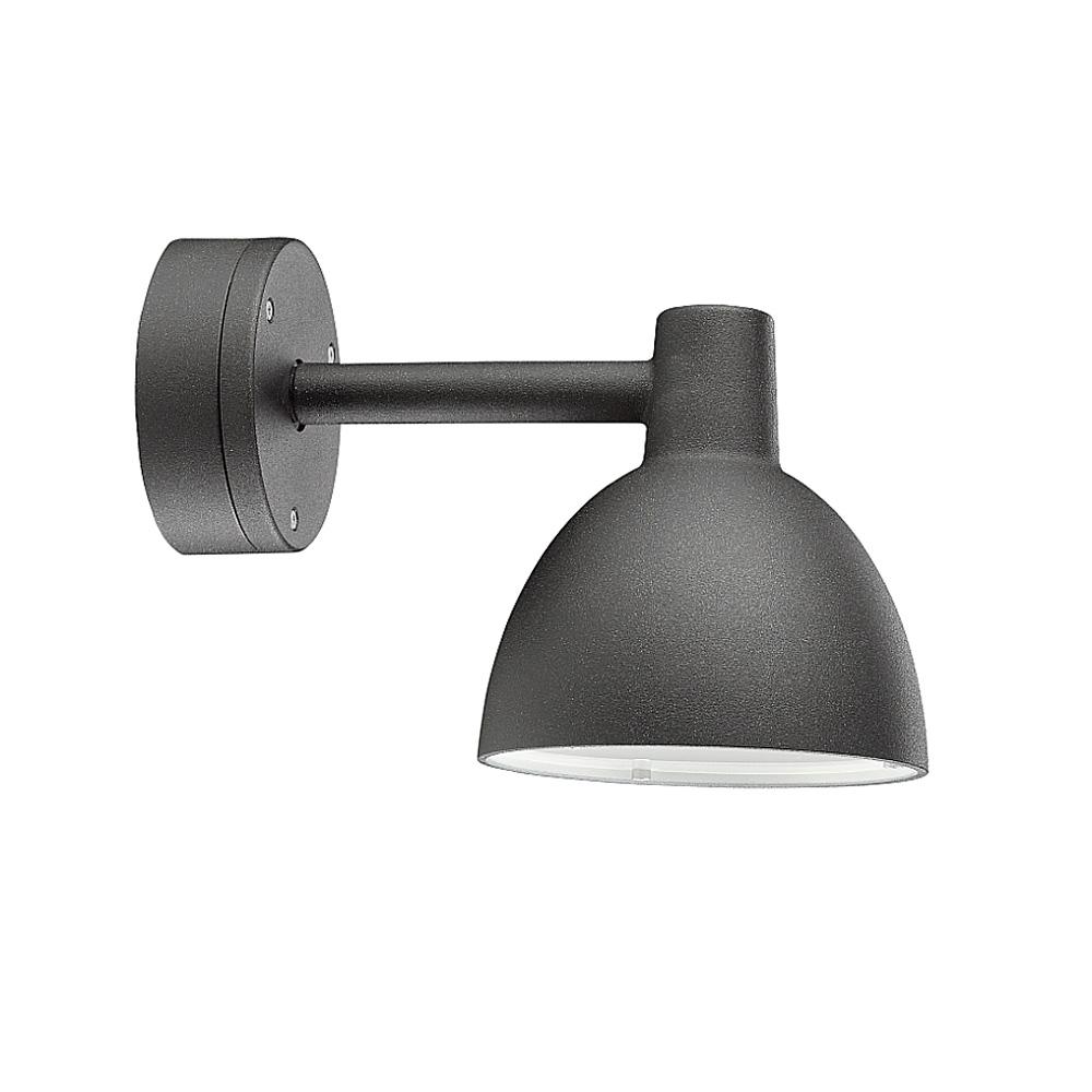Toldbod V u00e6glampe u00d8155mm, sort struktur Louis Poulsen Lighting A S Louis Poulsen RoyalDesign dk