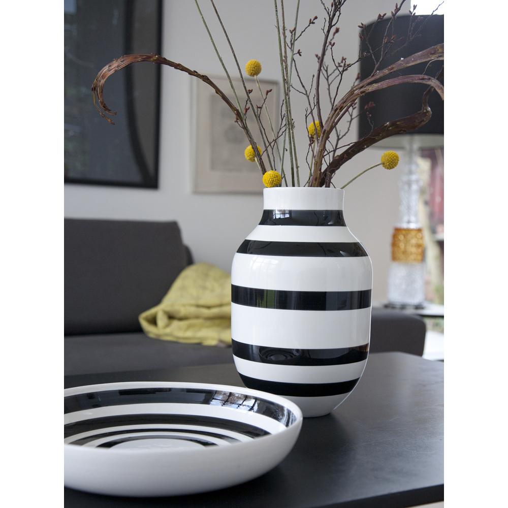 omaggio vase large sort ditte reckweg and jelena schou k hler. Black Bedroom Furniture Sets. Home Design Ideas