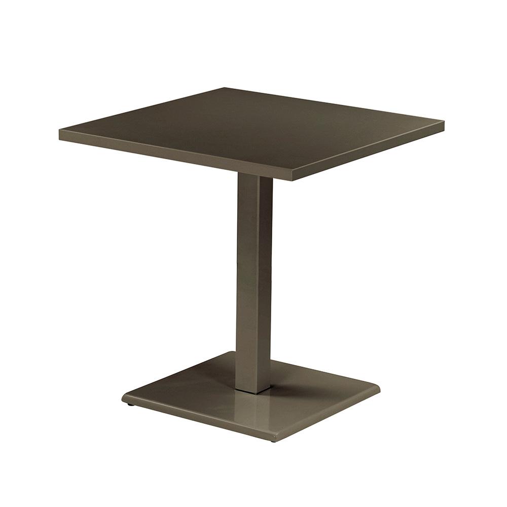 Round Bord 60x60 cm, Bronze