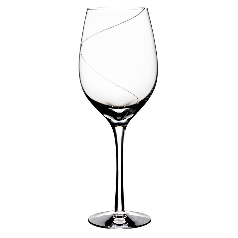 sorte rødvinsglas
