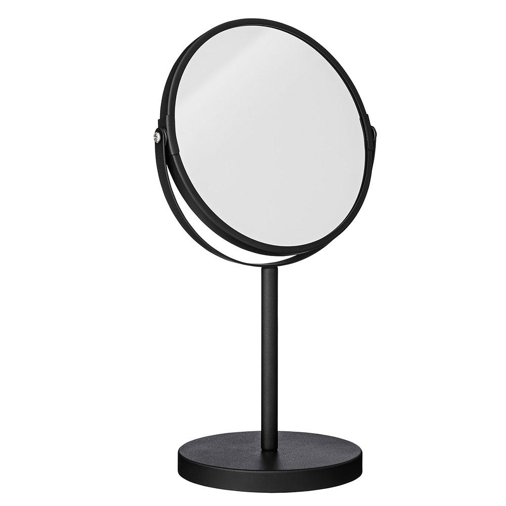 Spejl Ø20xH33cm, Sort