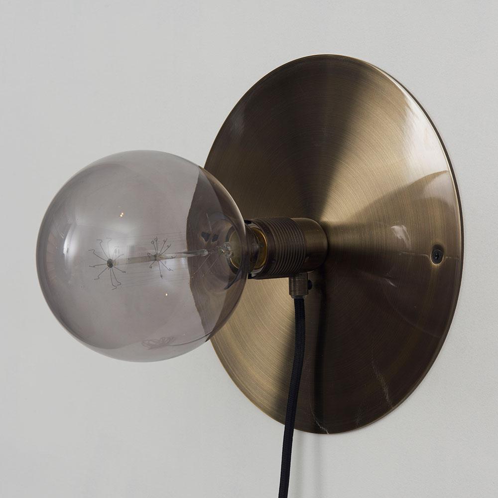 Frama E27 V u00e6glampe Medium Bronze, Sort Eric Therner Frama RoyalDesign dk
