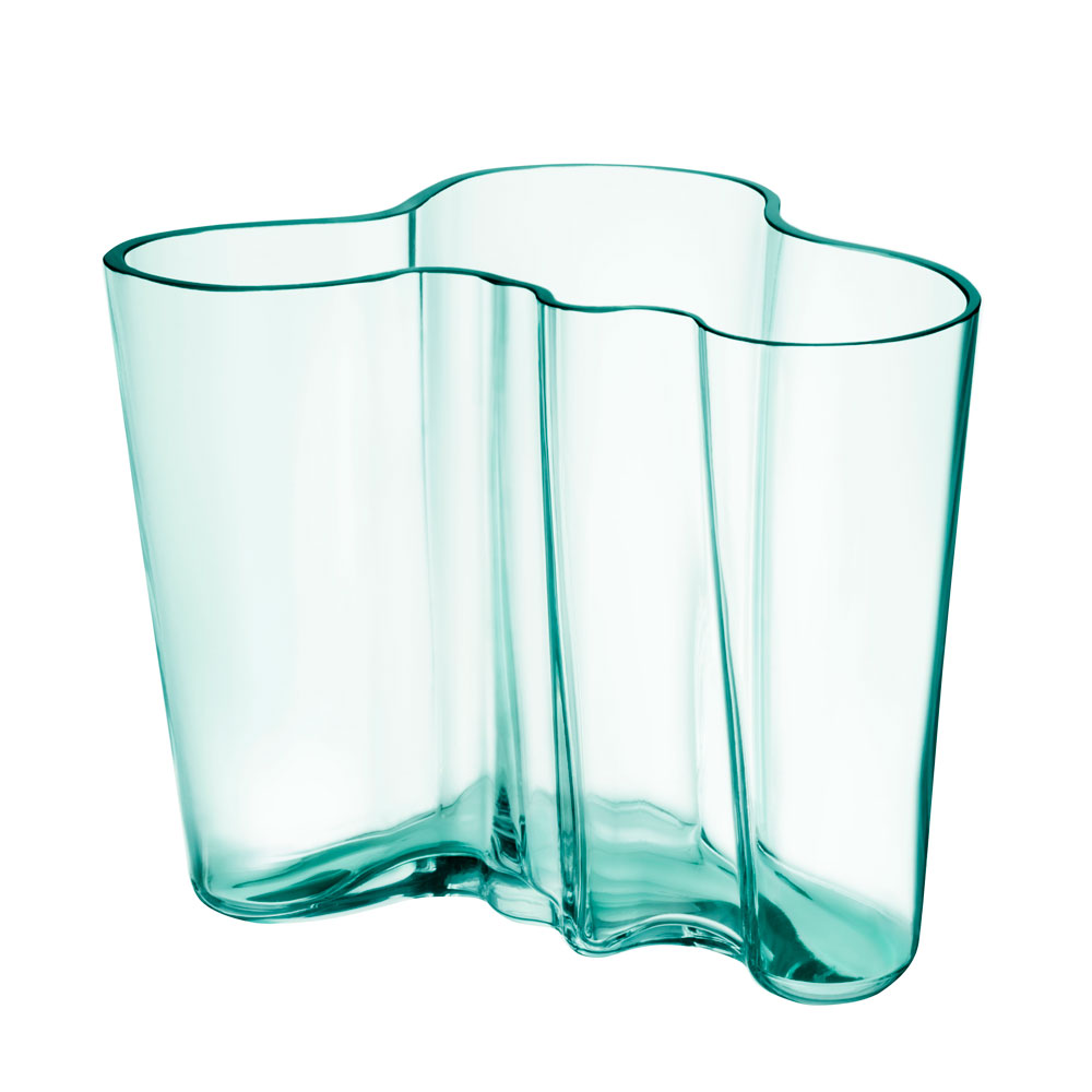 alvar aalto vase 160 mm vandgr n alvar aalto iittala. Black Bedroom Furniture Sets. Home Design Ideas