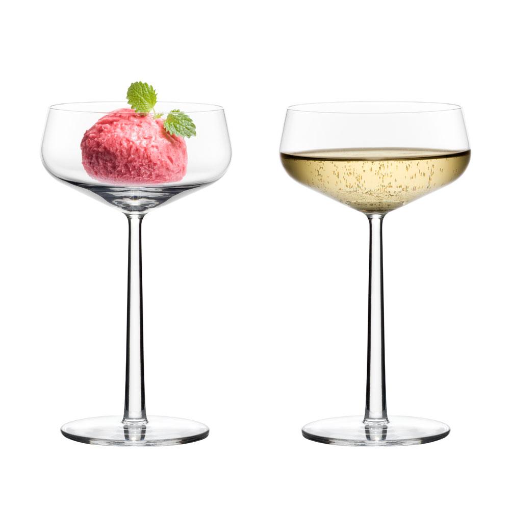 essence dessertsk l champagne glas 31cl 2 pak alfredo h berli iittala. Black Bedroom Furniture Sets. Home Design Ideas