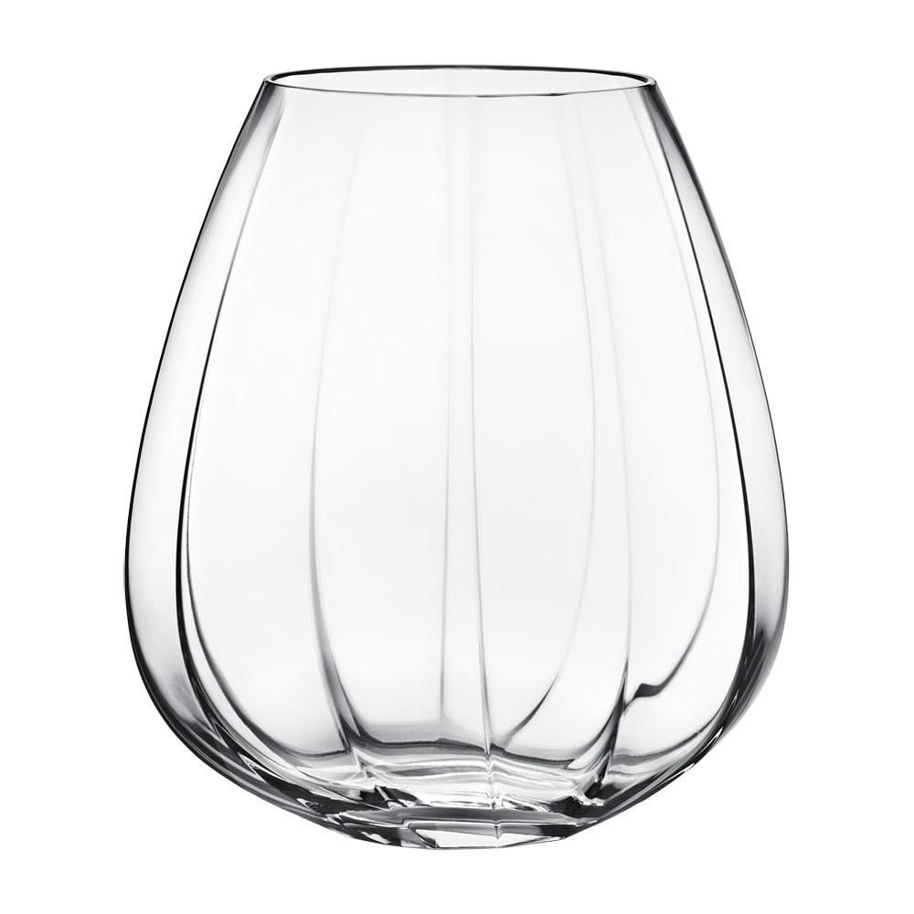 facet vase glas stor rikke hagen georg jensen