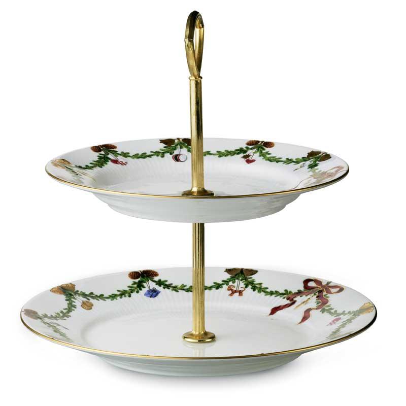 Starfluted christmas kagefad 23 cm royal copenhagen royal copenhagen - Cake tolix ...