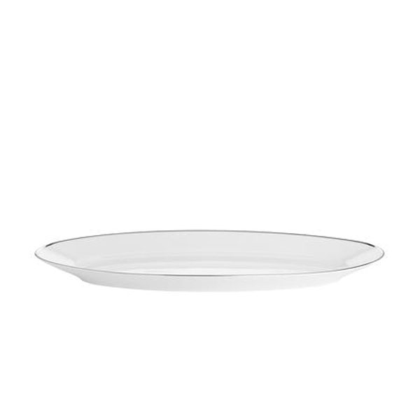 Bord Platine Fiskefad 45 cm, Hvid/Sølv