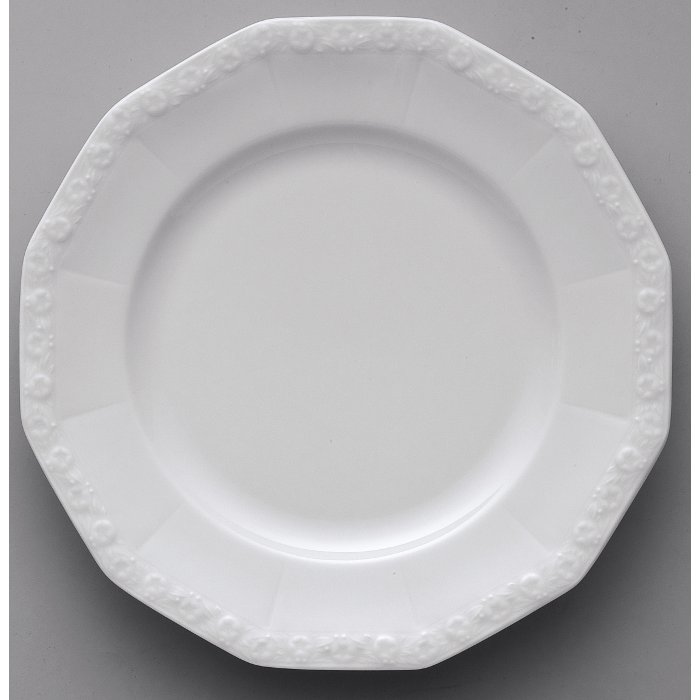 maria desserttallerken 21 cm hvid classic rosenthal. Black Bedroom Furniture Sets. Home Design Ideas